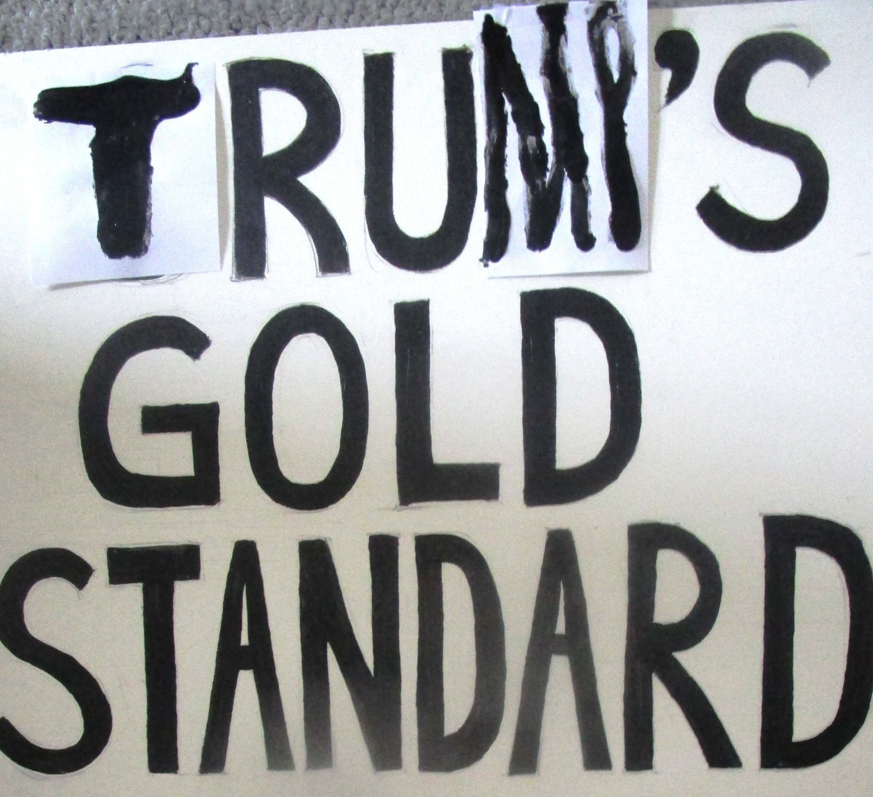 Trump the fool backs the gold standard