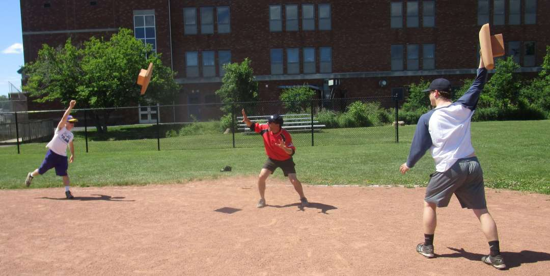 throwing bases