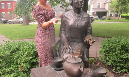 Passing the torch at the Susan B. Anthony House