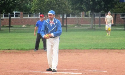 """Crooked Arm"" Brancato brings 19th Century base ball to the Game at the Corners"