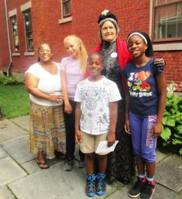 susan b with kids