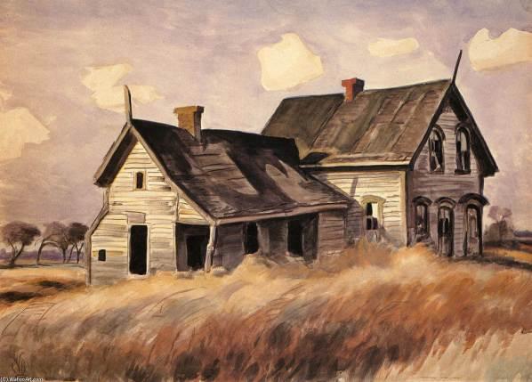 charles-burchfield-abandoned-farmhouse