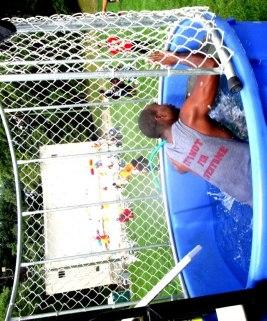 dunking