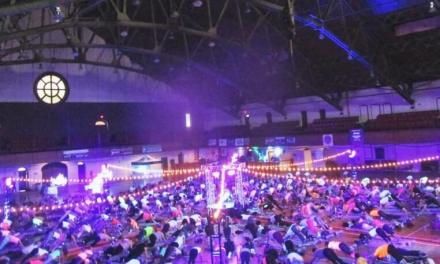 1,500 celebrate yoga at Soul Pose in the Armory