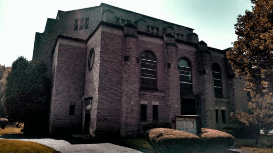 Immanuel Baptist Temple by the Genesee Riverway Trail