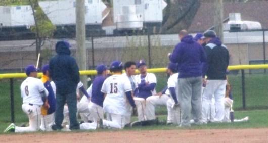 post game huddle