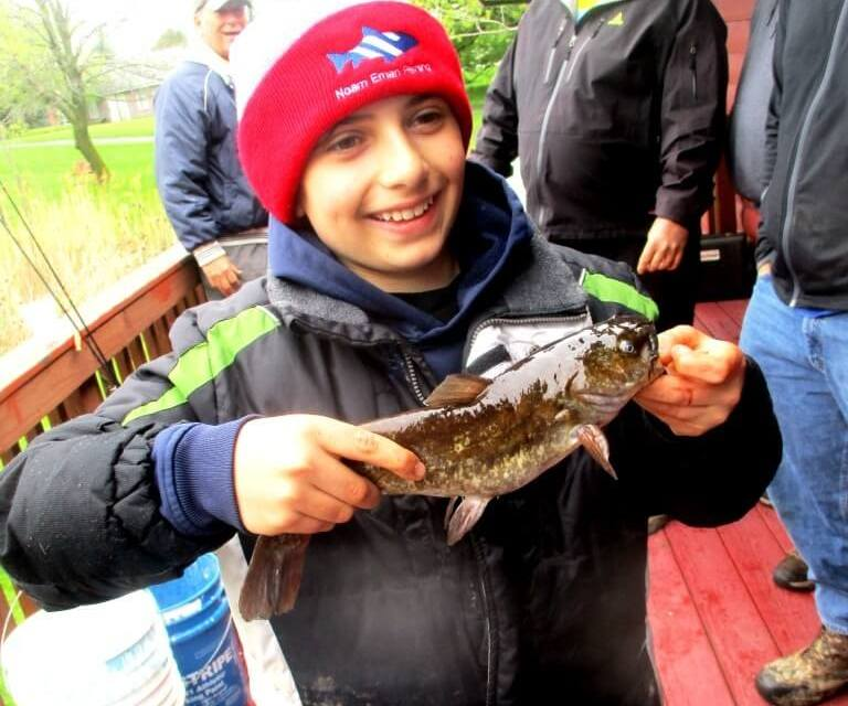 Kids Fishing Derby at Brighton Town Park. And a fish story.