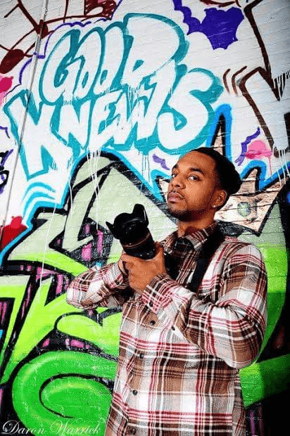 """Christopher """"Goodknews"""" Cardwell; A Celebrity Photographer on Top of his Game"""