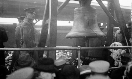 BIG BILL, BIG BELL AND SCHOOL BELLS: An ex-president, the Liberty Bell, and several thousand school teachers come to town.
