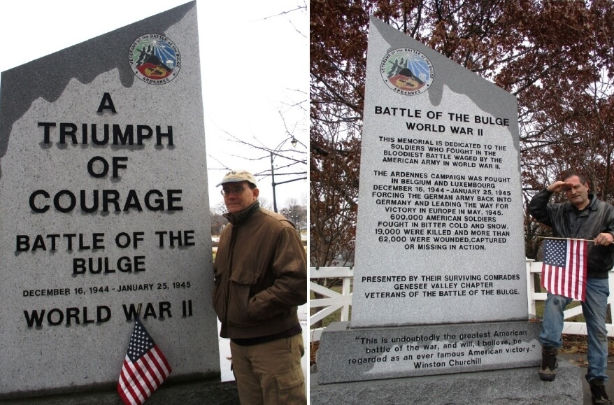 The Bulge and Rochester seventy-four years later
