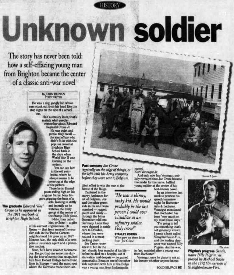 unknown soldier vonnegut p 1