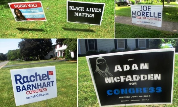 Election Day and in search of lawn signs in Brighton