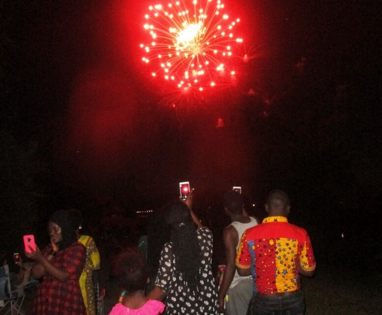 In Brighton, first 4th of July fireworks for new African immigrants