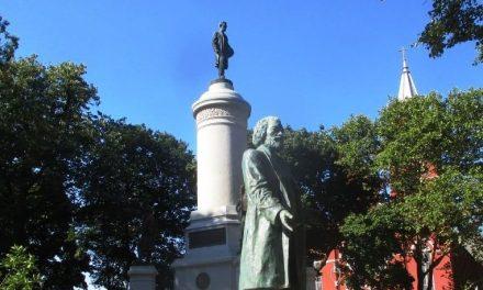 Frederick Douglass returns to Washington Square Park