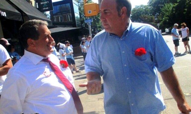 Politics at the Labor Day Parade