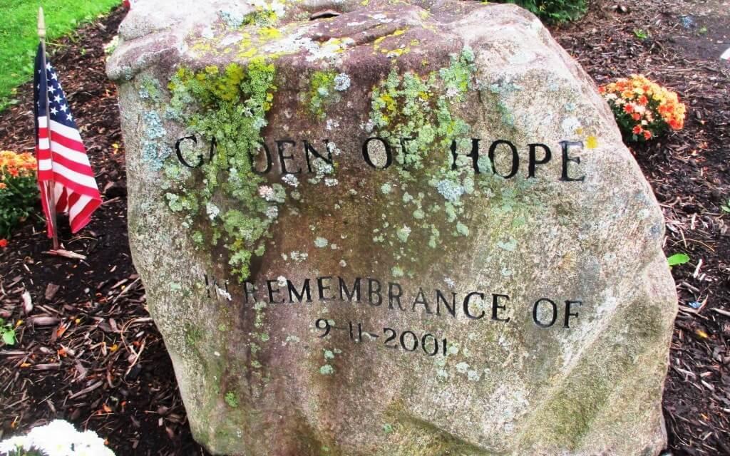 The Garden of Hope in Brighton: 9/11/18