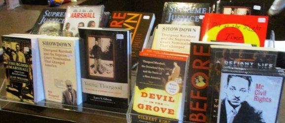 Books on Marshall for sale at GeVa. 11/03/18