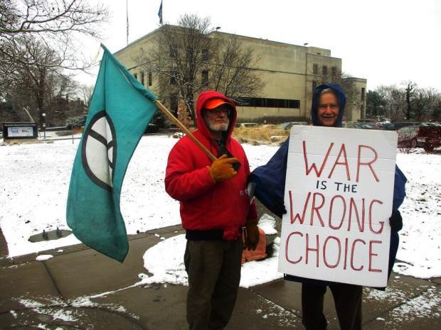 Hal Bauar (left) and Hank Stone [Photo: David Kramer, Sunday, 12/30/18