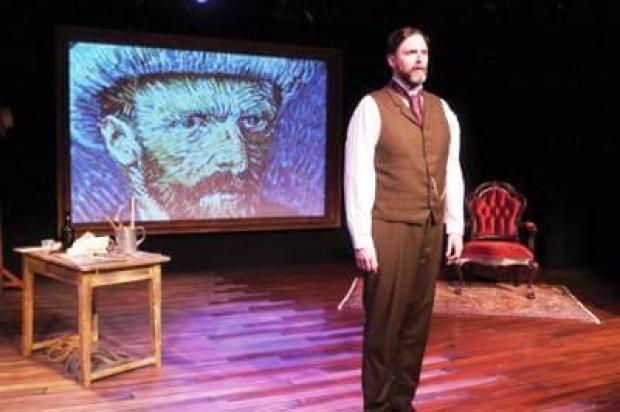 James Briggs stars in Leonard Nimoy's 'Vincent' at AS220, Providence, Rhode Island (The Sun Chronicle)