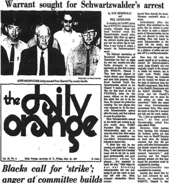 The Daily Orange, September 25, 1969