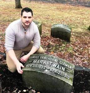 From Wit and Repartee at Woodlawn: A Secular Pilgrimage to Mark Twain's Gravesite in Elmira, NY.