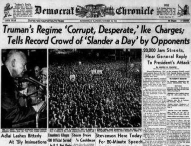 Democrat and Chronicle, Fri 24 Oct 1952