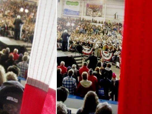 Bernie Sanderr rally at MCC, 4/12/16 [Photo: David Kramer from