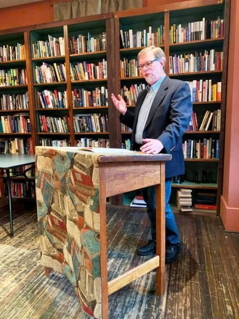 David Seaburn reading at Writers & Books [Provided by David]