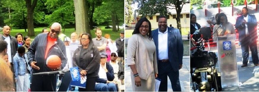 (left) Cobb's Hill 2018 (right) Cobb's Hill 2019