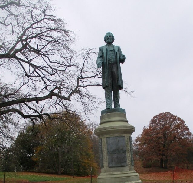 121 years ago when the Rochester press condemned the Wilmington, North Carolina race riots. And the Douglass Monument