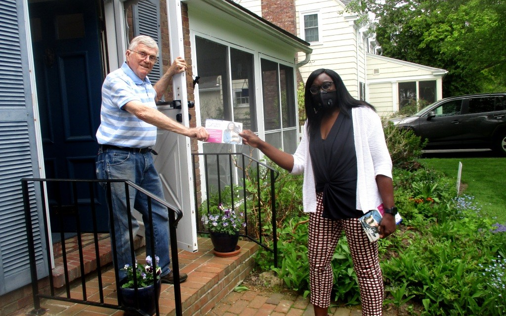 On the electoral road with Robin Wilt