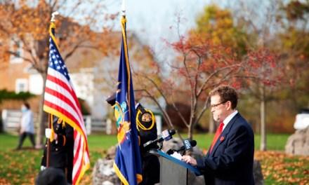 Edward R. Crone Jr. (aka Billy Pilgrim) remembered at the Brighton Veterans Memorial in Buckland Park