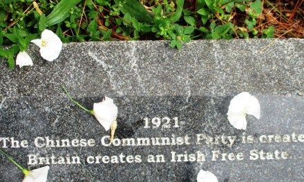 The Communist Party of China at the Vietnam Veterans Memorial in Highland Park