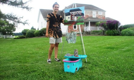 Plein Air Painting at the Amos B. Buckland House in Brighton