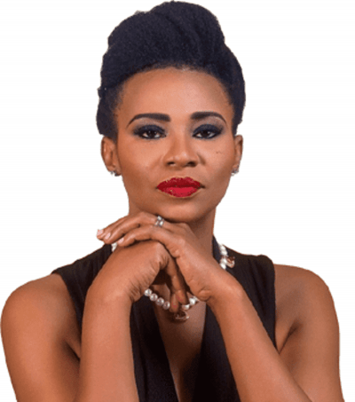 Is That How You Address Your Wife At Home – Actress Nse Ikpe-Etim Blasts A Twitter User Reacting To Her Cleavage