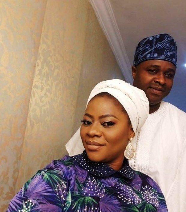 Femi Adebayo celebrates second wedding anniversary with second wife, Omotayo Adebayo