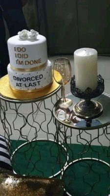 South African Lady Celebrates Her Divorce In A Unique Way