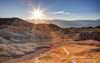 Death Valley, California records world's highest temperature