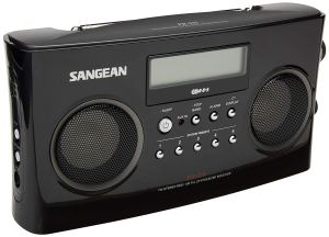 Radio portable AM / FM Sangean PR-D5BK avec syntonisation numérique et RDS