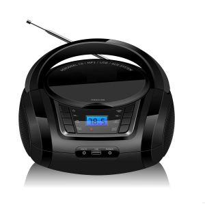 LONPOO CD Player Portable Boombox FM Radio