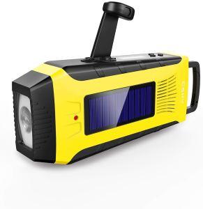 Esky Emergency Radios Hand Crank Solar Charge Radio Weather Radio