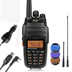 TYT UV8000E 10W High Power Dual Band VHF UHF Two-Way Radio Ham Walkie Talkie