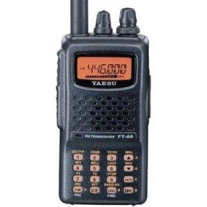Yaesu FT-60R Radio amateur à deux bandes portable 5W VHF / UHF
