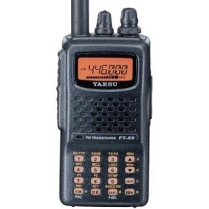 Yaesu FT-60R Dual Band Handheld 5W VHF / UHF Amateur Radio