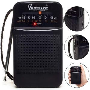Radio de poche portable AM / FM avec la meilleure réception