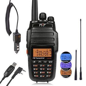 TYT UV8000E 10W High Power Dual Band VHF UHF Two-Way Radio Ham Walkie Talkie