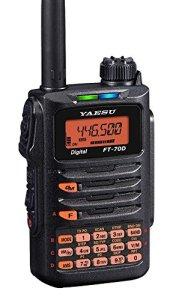 FT-70DR FT-70 Original Yaesu 144/430 MHz Digital/Analog Handheld Transceiver