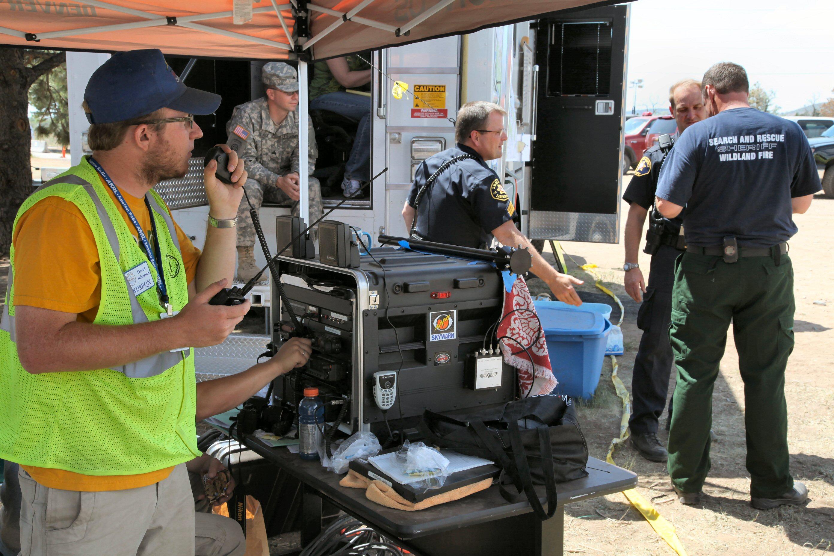 Radio Communication During Disaster