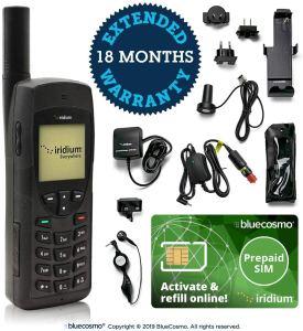Téléphone satellite BlueCosmo Iridium 9555