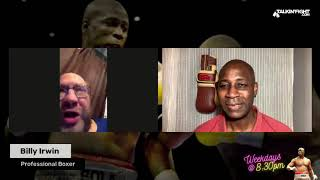 Billy Irwin | The Scoop with Bola Ray | Talkin Fight